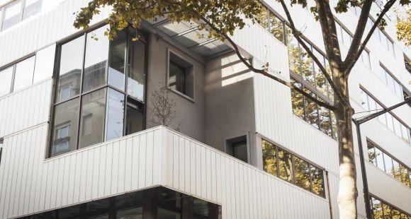 Le campus lyonnais de l'ESC Dijon, dans le quartier de la Confluence