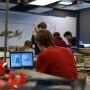 Préparation du Game of Drones, au PMClab, le fablab de l'UPMC //©UPMC