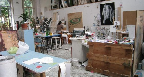 Un atelier de l'Ecole des Beaux-Arts de Paris © S.deTarlé