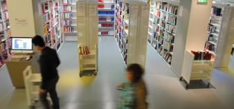 Université Paris 2 - Assas - bibliothèque - © Camille Stromboni - 2012
