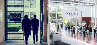 Après une année passée au sein de Pass, Kedge et Neoma réintègrent la banque d'épreuves Sesame. //©Kedge BS - Neoma BS