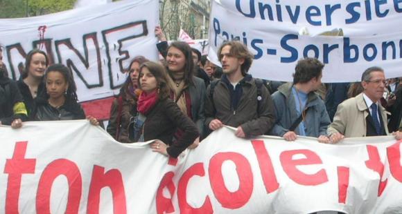 Manifestation du 8 avril 2009