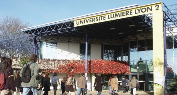 Le campus Porte Alpes de l'université Lyon 2 - Tous droits réservés Serge Tanet - Université Lumière Lyon 2
