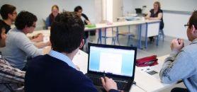 Enseignements en sciences humaines en petite équipe dans le CUPGE de l'université de Bretagne-Sud //©P. Dosset-Groupe-Archimède