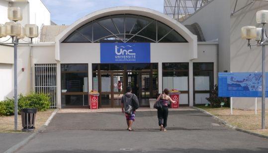 Université de Nouvelle-Calédonie Campus Nouville mai 2016