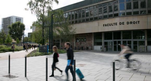 université de Strasbourg, campus de l'Esplanade