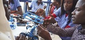 Pour investir le marché africain, Galileo-Studialis a pris une part majoritaire dans le groupe sénégalais d'enseignement privé ISM. //©SAM PHELPS - The New York Times-REDUX-REA