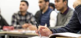 Le réseau milite pour une pérennisation de l'accueil des réfugiés au sein des universités. Ce qui nécessite, selon lui, l'inscription de ce sujet dans les missions des établissements. //©Gilles Rolle/REA