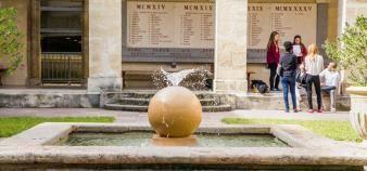 Certains enseignants craignent que les violences du 22 mars n'entachent durablement la réputation de la faculté de droit. //©David Richard/Transit/Picturetank pour l'Université de Montpellier