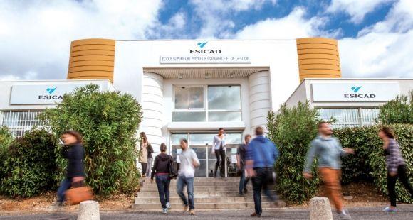 L'Esicad Montpellier fait partie du groupe Eduservices