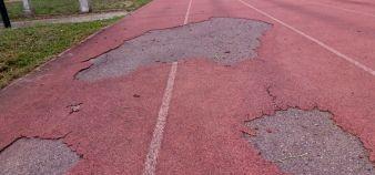 La réfection de la piste d'athlétisme de la filière Staps de Toulouse 3 avait fait l'objet d'un projet soumis à un financement CPER, qui a été refusé. //©Frédéric Dessort