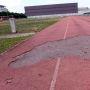 La piste d'athlétisme de la filière STAPS de l'université Toulouse 3 //©Frédéric Dessort