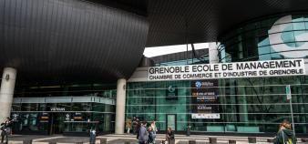 Grenoble Ecole de Management réfléchit déjà aux différentes possibilités concernant la rentrée 2020. //©Francois HENRY/REA