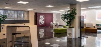 Le nouveau campus de Burgundy School of Business à Lyon inauguré en avril 2021. //©BSB