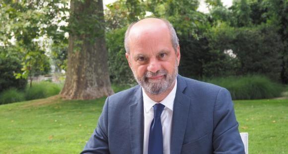"""Jean-Michel Blanquer : """"Je récuse l'idée d'être vertical mais j'assume d'avoir mené à bien des réformes transformatrices"""""""