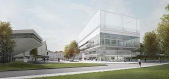 La nouvelle Université Paris-Saclay sera officiellement créée en 2020. //©Muoto architectes