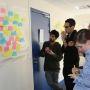 Séance de créativité lors de la formation des doctorants de Sorbonne Universités au concours
