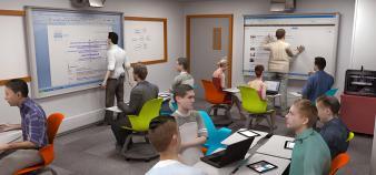 La salle de classe du futur selon GEM //©GEM