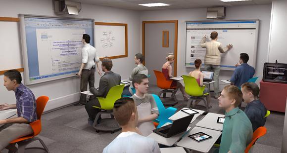 La salle de classe du futur selon GEM