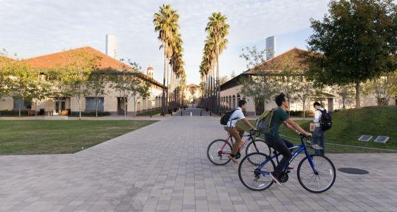 L'université de Stanford - Californie - octobre 2014