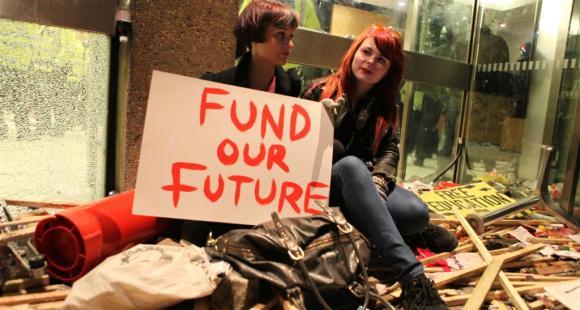 Manifestants, novembre 2010 (E. Blanchet)