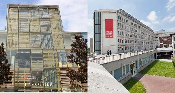 L'UPEM (à gauche) et l'UPEC (à droite) © UPEM et UPEC Nicolas Darphin