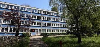La résidence universitaire de Monbois à Nancy fait partie des projets retenus dans le cadre du plan France Relance. //©Fred MARVAUX/REA