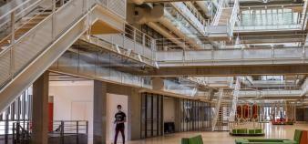 L'Université Paris-Saclay, dont l'École nationale supérieure fait partie, caracole en tête du classement thématique de Shanghai. //©Marta NASCIMENTO/REA