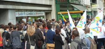 Devant le CIO (Paris 14) à 10 heures