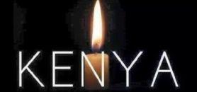 Les universités françaises se montrent solidaires de l'université de Garissa au Kenya après le massacre de 148 étudiants, jeudi 2 avril 2015 //©Kenya
