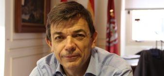 Le recteur de l'Universidad Complutense espère surmonter les difficultés financières et remplacer progressivement les postes de professeurs vacants, notamment grâce à un plan de financement du gouvernement régional. //©Camille Stromboni