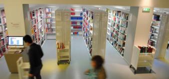 Université Paris 2 -  Panthéon Assas - Bibliothèque - //©Camille Stromboni