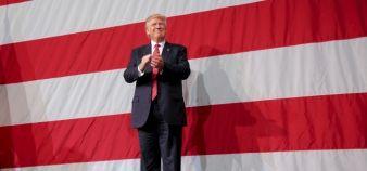 Élu à la tête des États-Unis le 8 novembre 2016, Donald Trump a peu parlé d'enseignement supérieur au cours de sa campagne. //©TRAVIS DOVE/The New York Times-REDUX-REA