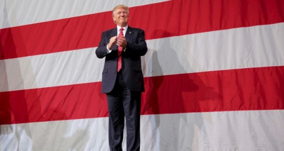 USAGE UNIQUE. Donald Trump, 45e président des Etats-Unis d'Amérique