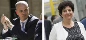 Les deux ministres gardent leur portefeuille. //©Nicolas TAVERNIER/REA - Sebastien ORTOLA/REA