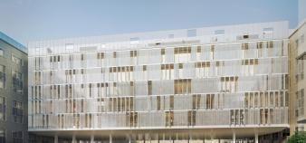 L'université Paris-Dauphine s'agrandit avec la construction d'un nouveau bâtiment à partir de 2020. //©Université Paris Dauphine