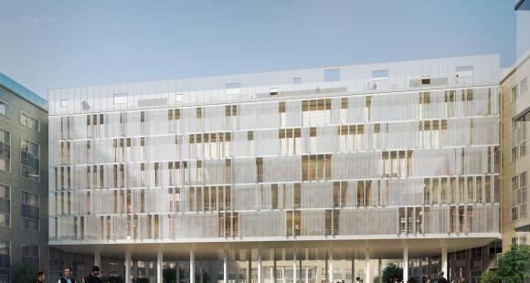 Pour ses 50 ans, l'université Paris-Dauphine s'offre une restructuration et un nouveau logo