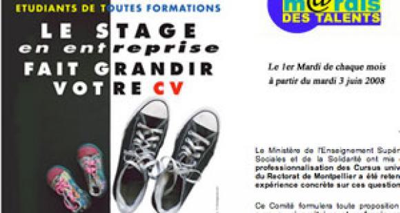 Banque de stages du Languedoc-Roussillon cherche universités d'accueil