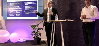 José Milano, directeur général du groupe Inseec (à gauche) et Mathias Emmerich, président exécutif. //©Agnès Millet