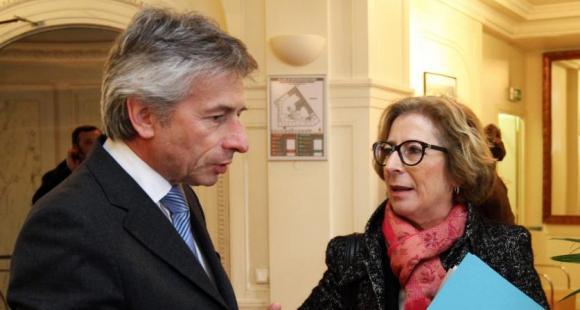 Laurent Beauvais et Geneviève Fioraso - 6 février 2013