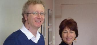 Snesup - secretaires généraux - Marc Neveu et Claudine Kahane - mars 2013