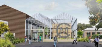 Les nouveaux locaux de l'Ecole George Méliès à Orly (94) seront inaugurés en janvier 2014 // DR