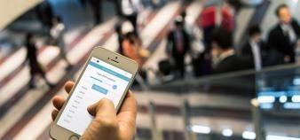 Disponible sur smartphone, Affluences est utilisée par 200 établissements, dont 80 % de bibliothèques universitaires. //©Affluences