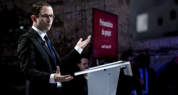 Benoît Hamon, candidat socialiste à l'élection présidentielle 2017