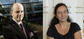 Jean Michel Blanquer et Frédérique Vidal //©Denis Allard / REA - Université de Nice