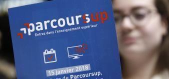 Les quotas ont bondi dans certaines formations comme les cursus de droit parisiens. //©REA/Nicolas Tavernier