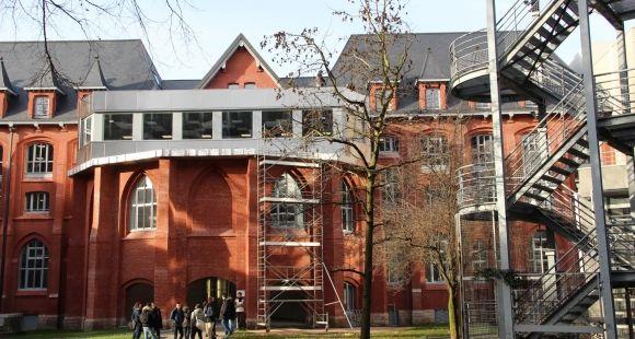 Le campus de l'université catholique de Lille, janvier 2015