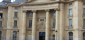 """En cette rentrée 2017, l'université Panthéon Sorbonne """"a dépassé marginalement"""" ses capacités d'accueil, selon son président, Georges Haddad. //©Camille Stromboni"""