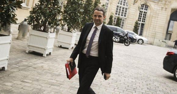 Thierry Mandon, secrétaire d'Etat à l'Enseignement supérieur et à la Recherche - Octobre 2015 (réunion à Matignon)