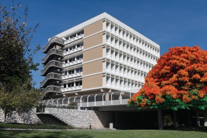L'Institut Weizmann à Tel Aviv.
